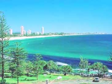 Burleigh Heads queensland Australia