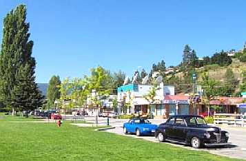 Peachland BC hotels, resorts & accommodations